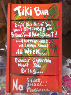 funny bar sign sayings