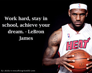 Inspirational Basketball Quotes Lebron James Wallpaper