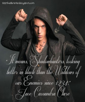 Lizz the Librarian: City of Bones Quotes