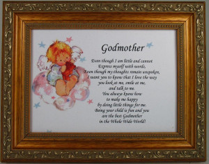 Home / Gifts by Occasion / Godmother 5x7 Gold Frame Plaque #57F-GMK