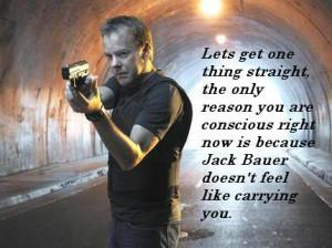 Rann Xerox: I'm Spartacus Jack Bauer!