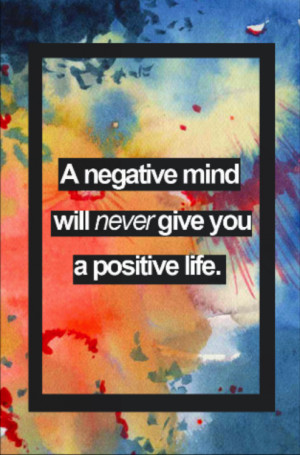 ... positive positive not negative positive thinking power of positive