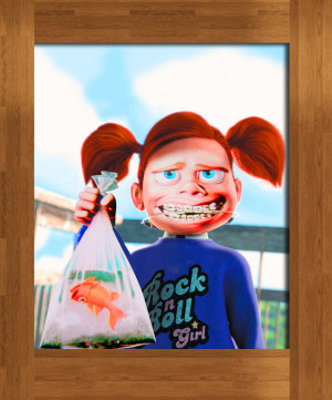 Darla Finding Nemo...