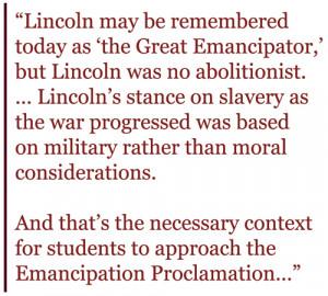 ... Lincoln