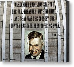 Famous Quotes Canvas Prints - Will Rogers Quote Canvas Print by ...