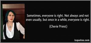 More Cherie Priest Quotes
