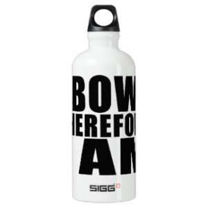 Funny Quotes Water Bottles