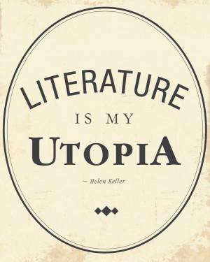 Literature - Quote by Helen Keller 8x10 Art Print. $19.00, via Etsy.