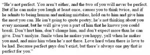 love, perfect boy for me, perfect guy, quote, quotes