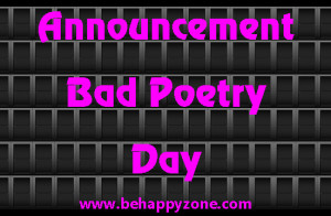 The Good, The Bad, The Ugly Poetry Day
