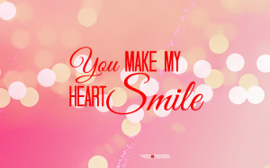You Make Me Smile Quotes For Him You make my heart smile video