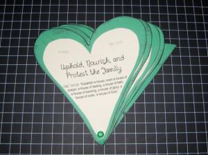 Shamrock Heart Handout