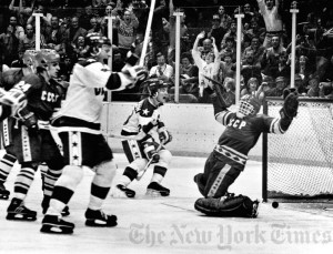 Miracle on Ice - Winter Olympics 1980, USA defeats Russia 4-3 ...