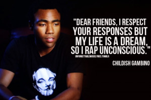Childish Gambino Quotes About Life