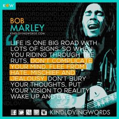 Bob Marley Quotes About Life And Happiness