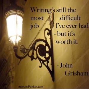 John Grisham Quote