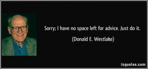 More Donald E. Westlake Quotes