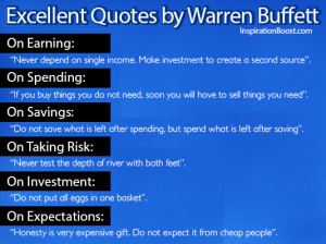 Excellent Quotes by Warren Buffett