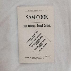 ... poems by sam cook featuring the texts of selected poems spanning the