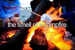 campfire, fire, food, love, quotes, smell, text, things i love, yum ...