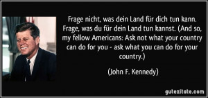Mehr Zitate von John F. Kennedy