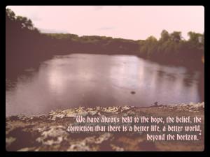 Quotes-The Horizon by Katzeye007
