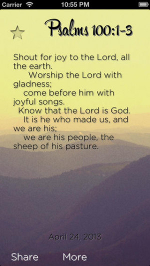 Daily Bible Verses 019-01