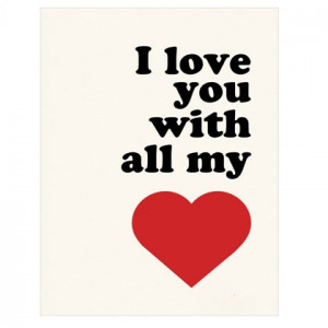 Love You with All My Heart!