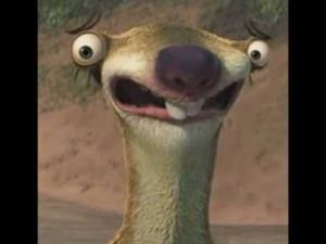 Sid The Sloth Sid the sloth