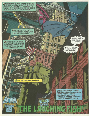 On The Batman in Detective Comics #475, by Englehart, Rogers, Austin ...