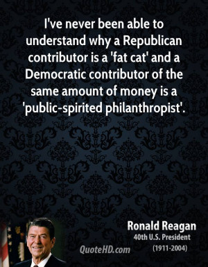 ... Democratic contributor of the same amount of money is a 'public