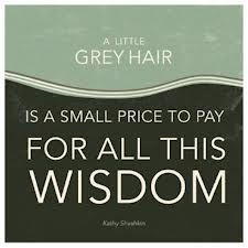 Quotes About Grey Hair...