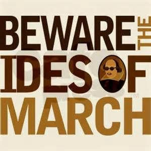 Saturday's Ides of March Quote