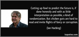 Ambitious Quotes More Ian Hart Quotes