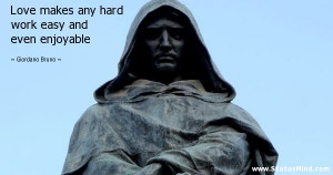 Giordano Bruno quotations sayings Famous quotes of Giordano Bruno