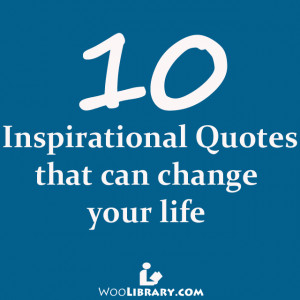 quotes that can change your life quotesgram