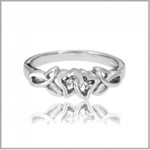 Home » Irish Diamond Promise Ring
