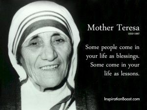 Mother Teresa People Quotes