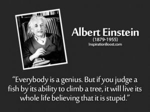 Stupid Quotes – Albert Einstein
