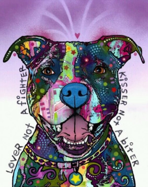 The Love of a Pitbull