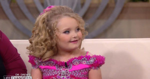 Alana Thompson, the hyperactive child beauty pageant contestant who ...