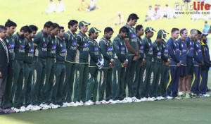 Pakistan Cricketers on Saturday met the survivors and parents of the ...