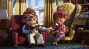 Carl and Ellie, Up (Disney Pixar)