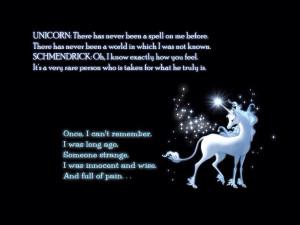 The Last Unicorn Quote
