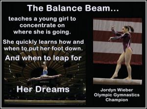 Gymnastics Poster Jordyn Wieber Gymnast Quote by ArleyArtEmporium, $15 ...