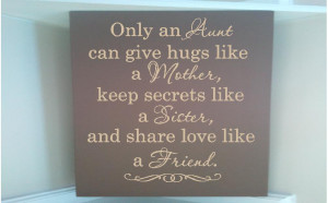 An Aunt's Love http://www.etsy.com/listing/111129181/personalized ...