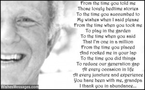 birthday poems for grandpa wish your grandfather a happy birthday by ...