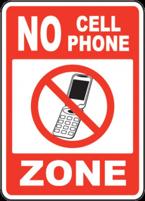 The Bathroom Should be a No Cell Phone Zone!