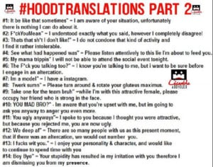 theblancolife:Hilarious shit here, hood translations for those who ...