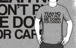 Fat Amy - Cardio Quote by stevebluey